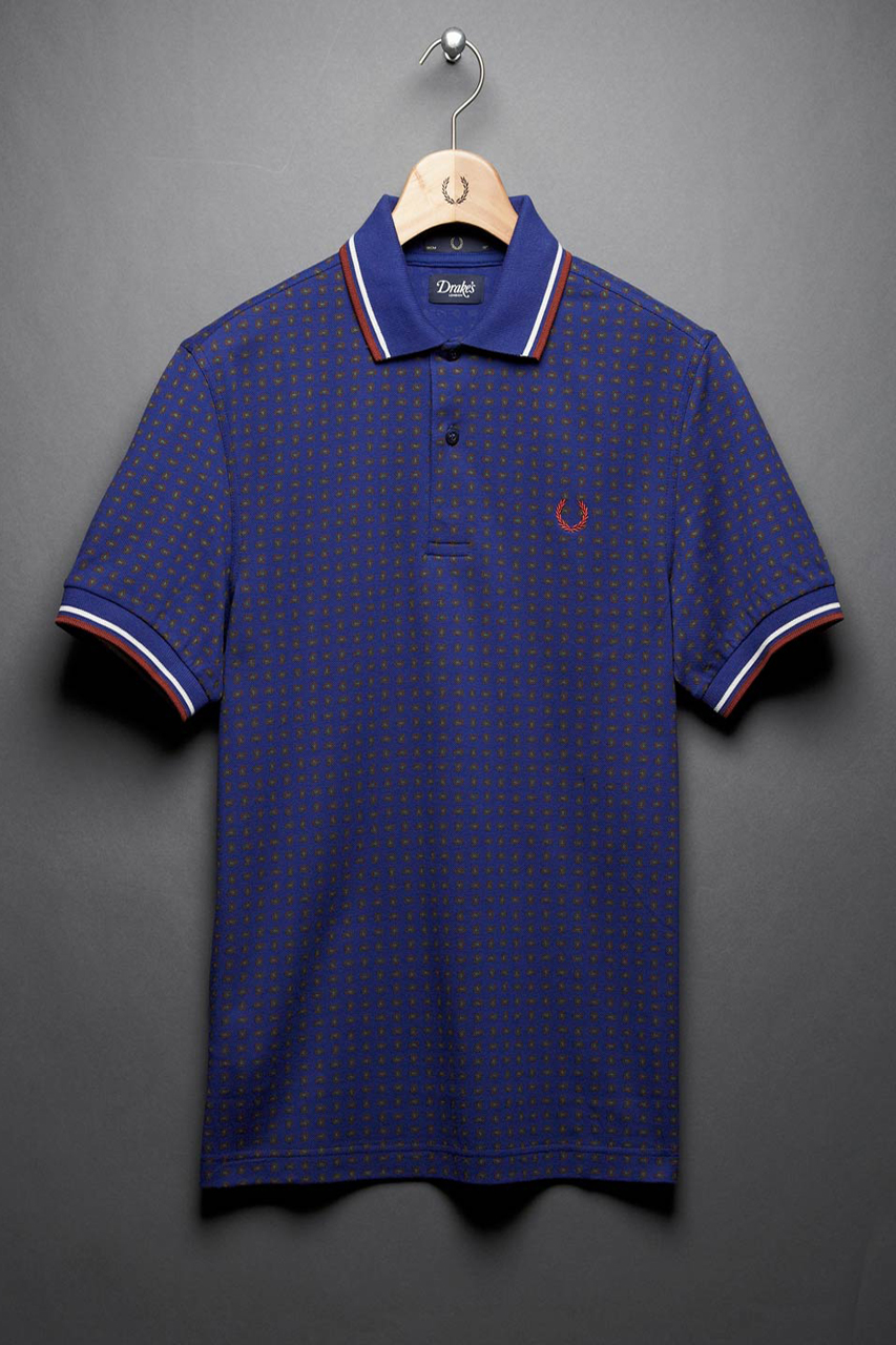 "Drake's x Fred Perry Laurel Wreath 2012 Fall/Winter ""Blank Canvas"" Collection"
