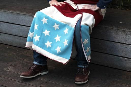 FACETASM Stars & Stripes Blanket