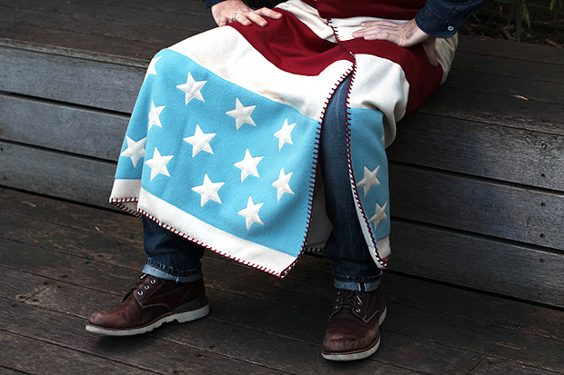facetasm stars stripes blanket