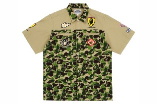 Ferrari 458 GT3 x A Bathing Ape 2012 Capsule Collection