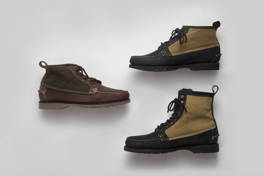 Filson x Sebago 2012 Fall/Winter Knit Tin Cloth Boot