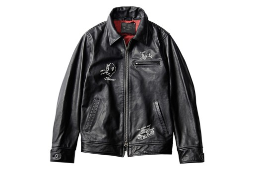 FUCT SSDD 2012 Leather Jacket
