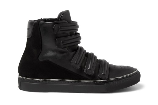 Givenchy Zip Trim High-Top Sneakers