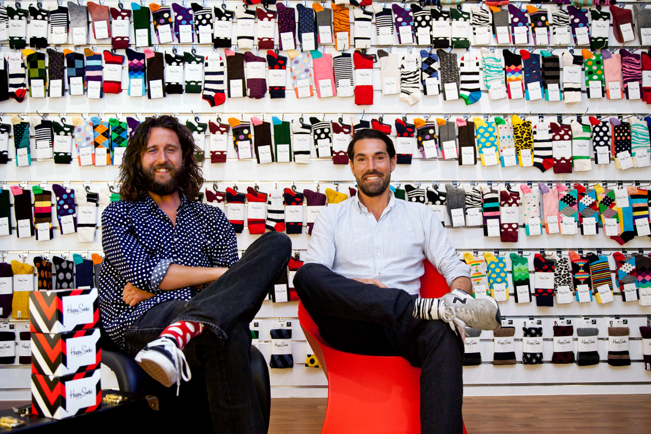 Happy Feet: An Interview with Viktor Tell and Mikael Soderlindh of Happy Socks