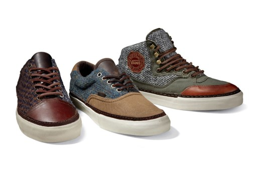 Harris Tweed x Vans Vault 2012 Winter Capsule Collection