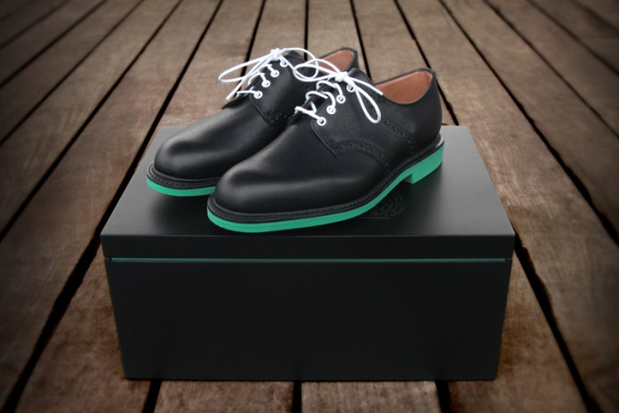 Heineken x Union x Mark McNairy Saddle Shoe