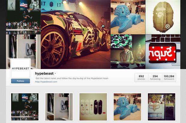 HYPEBEAST Instagram's Web Profile Is Now Online