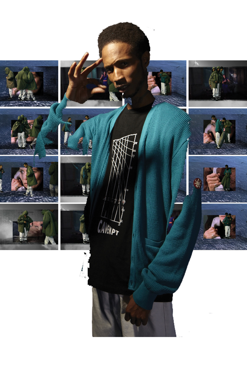"HYPEBEAST Magazine: C.E 2012 Fall/Winter ""BREAK UPS"" Editorial"