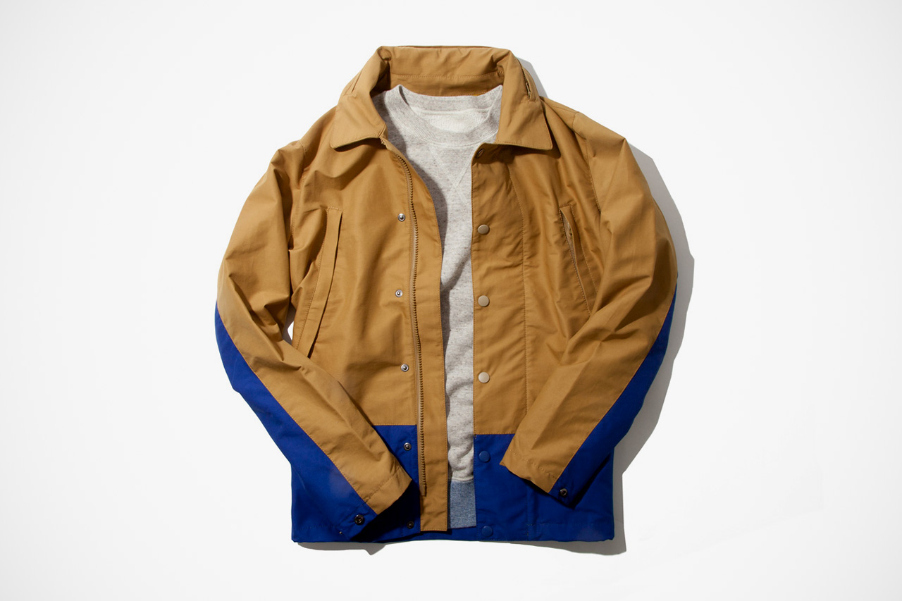 IMIND 2012 Fall/Winter Beige Coach Jacket
