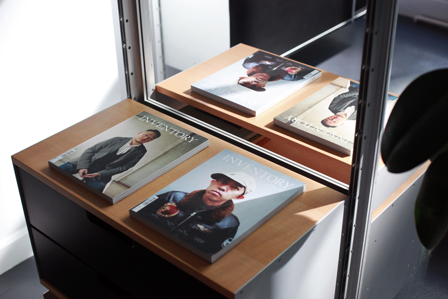 inventory magazine issue 07 vitsoe nyc shop in shop launch