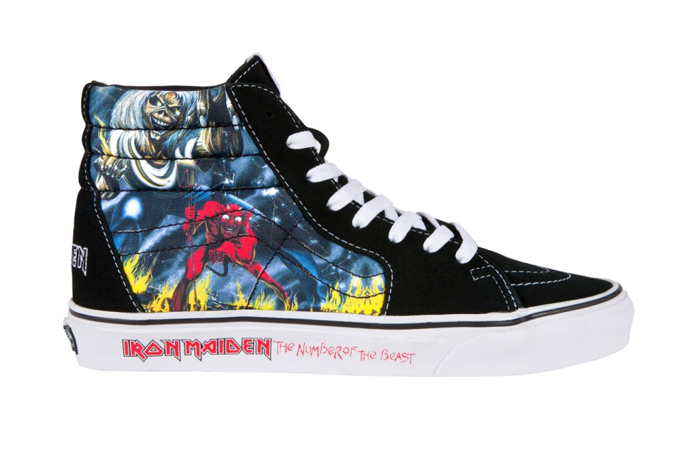 """Bape X Kaws >> Iron Maiden x Vans """"The Number of the Beast"""" 2012 Holiday ..."""