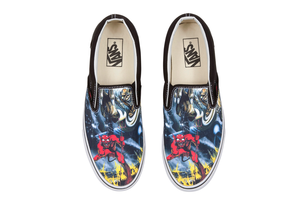 """Iron Maiden x Vans """"The Number of the Beast"""" 2012 Holiday Collection"""