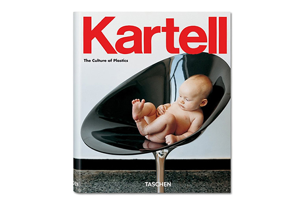 italian furniture icon kartell documented in taschens the culture of plastics
