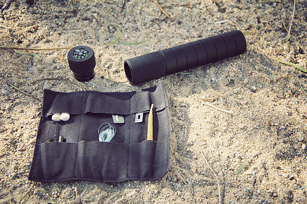 """J. L. Lawson & Co. """"The Cell"""" 6061-T6 Machined Survival Kit"""