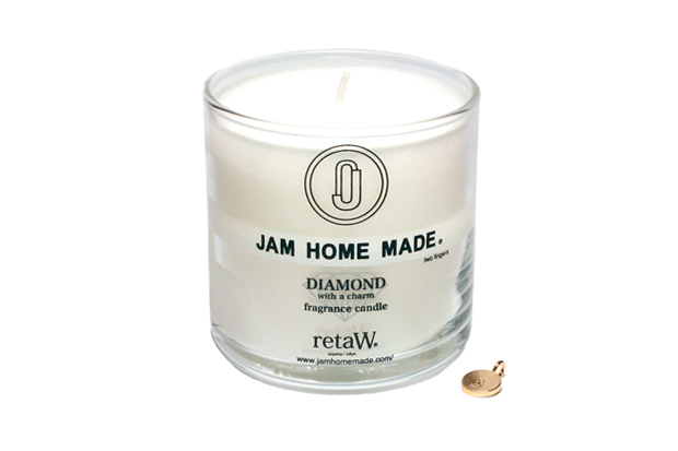 JAM HOME MADE x retaW DIAMOND FRAGRANCE CANDLE
