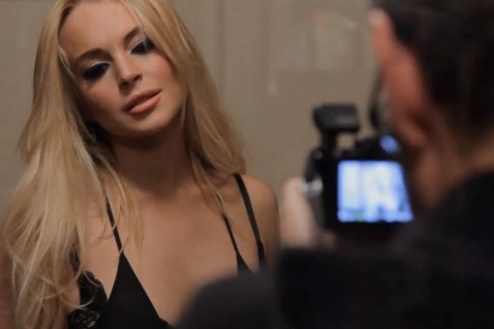 James Franco Directs R.E.M. Video Starring Lindsay Lohan
