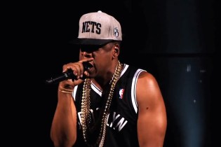 "Jay-Z Performs ""Dead Presidents"" & ""Can I Live"" @ Barclays Center"