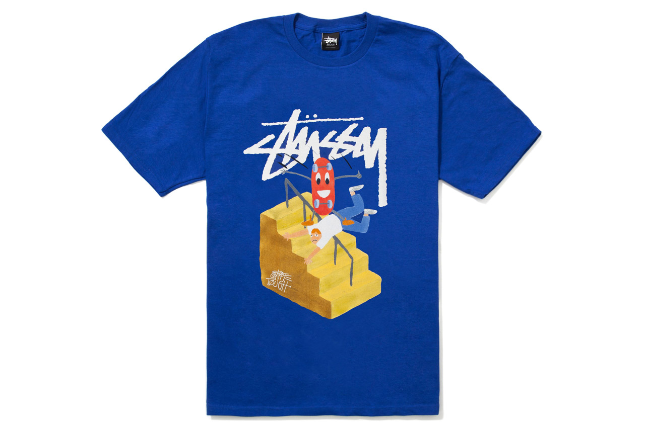 jayson musson x stussy 2012 fall winter t shirt collection