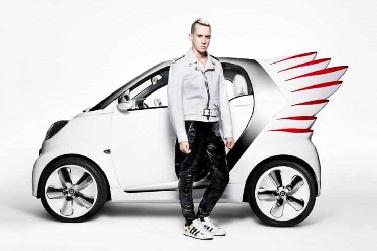 Jeremy Scott Designs smart fortwo Electric Drive Car