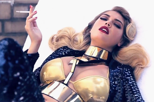 Kate Upton for 2012 November Vogue Italia Video