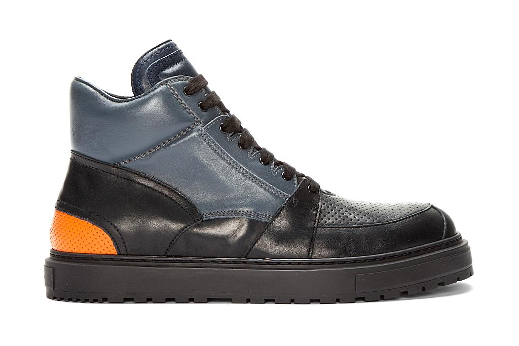 Kris Van Assche Perforated Boot Sneakers