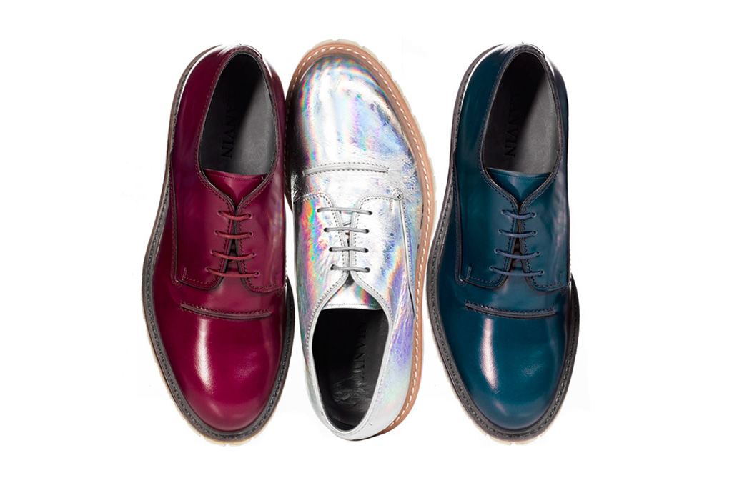 lanvin 2012 fall winter derby shoes