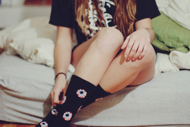 Lauren Lepore Captures Beautiful Women in Mishka Socks