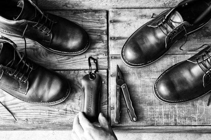 Leatherman x BROKEN HOMME Footwear Collection