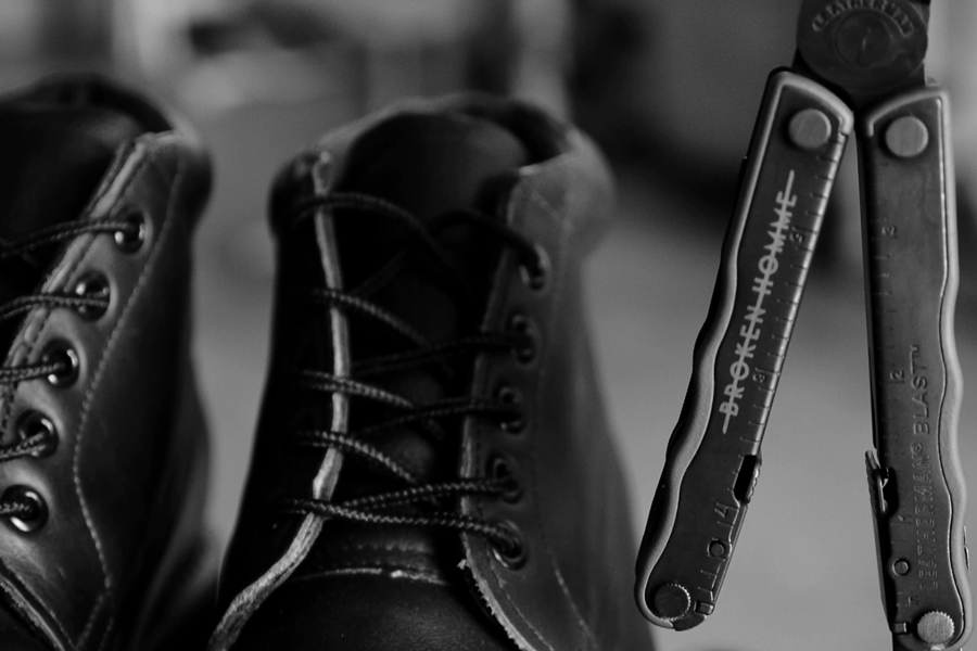 Leatherman x BROKEN HOMME Footwear Collection