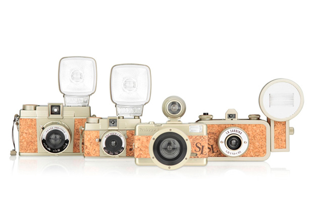 "Lomography 2012 ""Champagne Edition"" Cork Cameras"