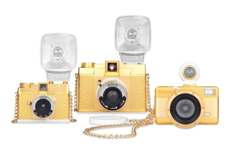 "Lomography 2012 ""Gold"" Cameras"