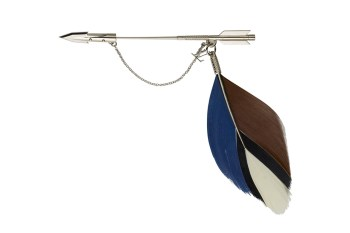 Louis Vuitton 2012 Fall/Winter Feather Brooch Pins