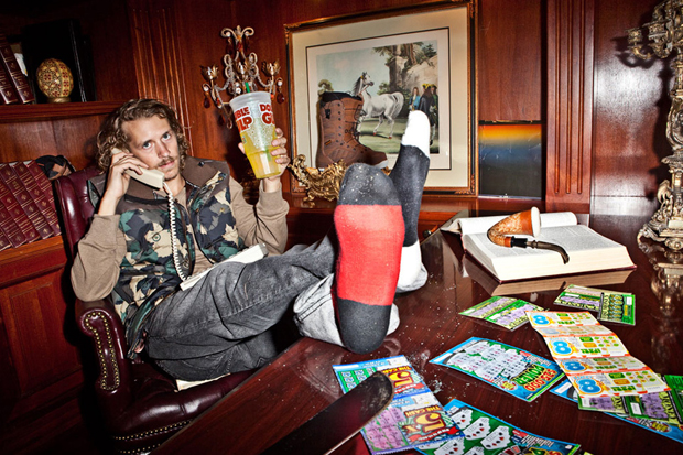 LRG 2012 Holiday Lookbook featuring Gucci Mane