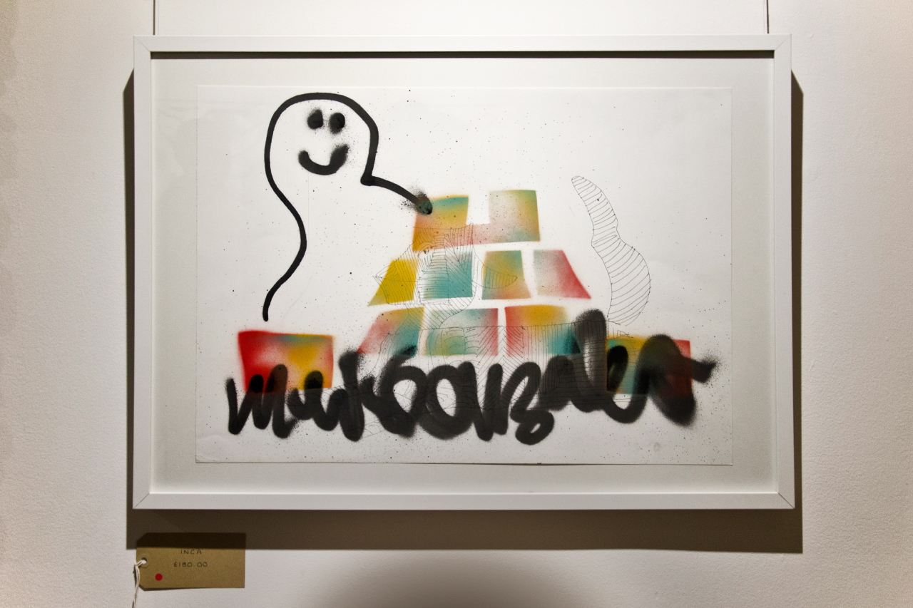 "Mark Gonzales ""One Week, One Show"" @ The Church of London Recap"