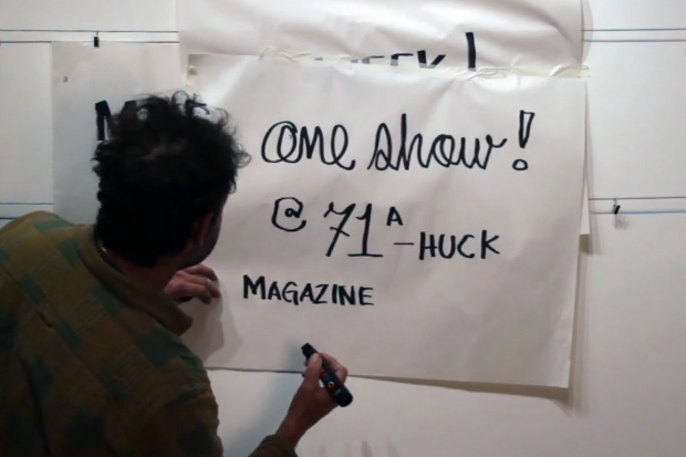 "Mark Gonzales ""One Week, One Show"" @ The Church of London Preview Video"