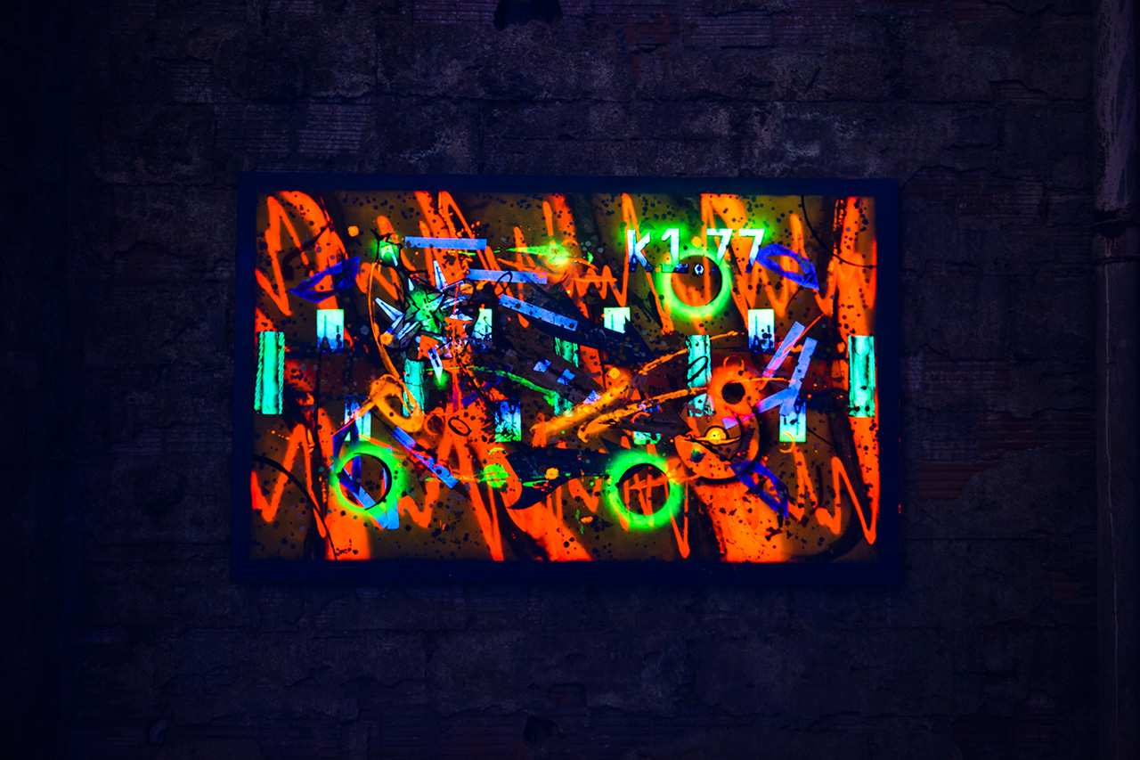 matta rammellzee futura and phase 2 deep space exhibition joseph nahmad contemporary recap