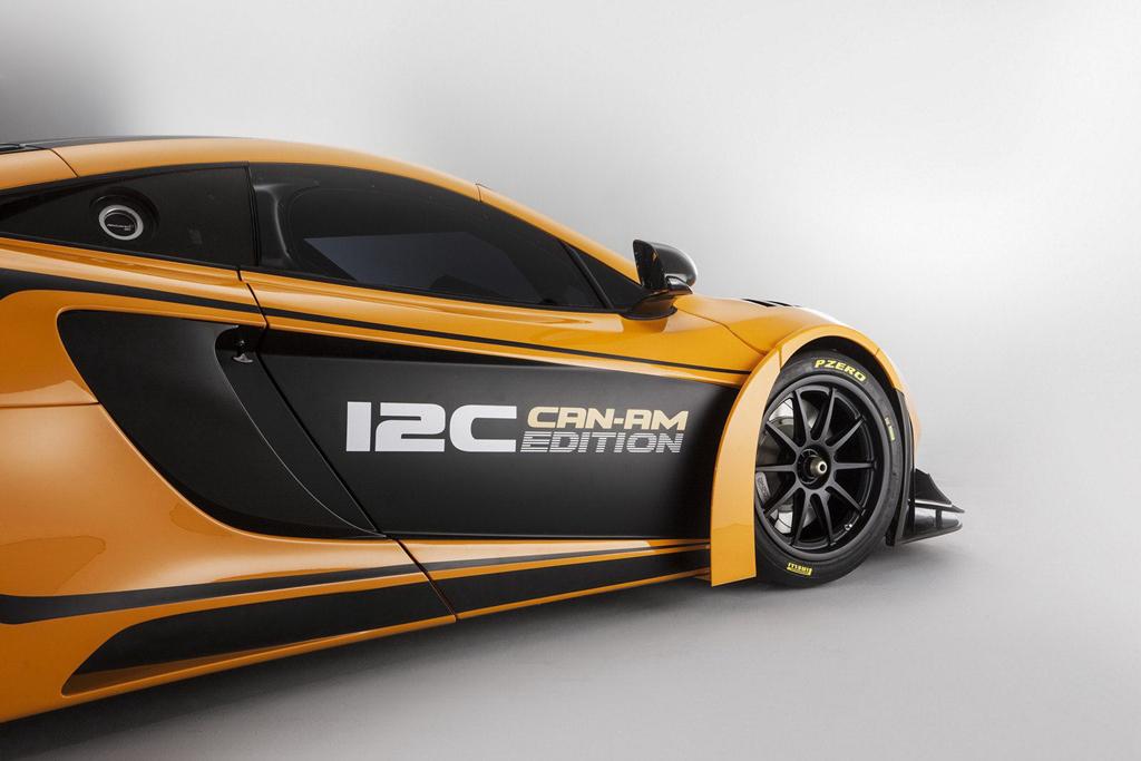 McLaren Unveils the 630HP MP4-12C Can-Am GT