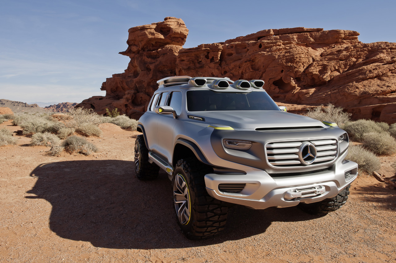 mercedes benz ener g force concept