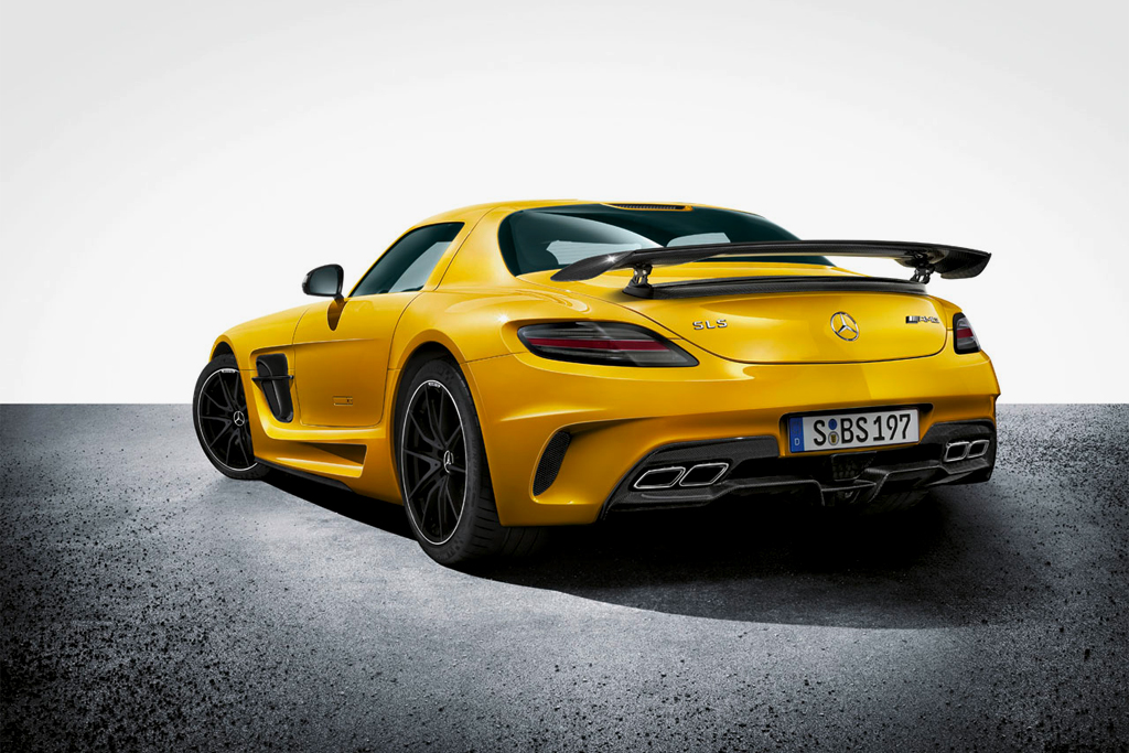 mercedes benz unveils the 2014my sls amg black series