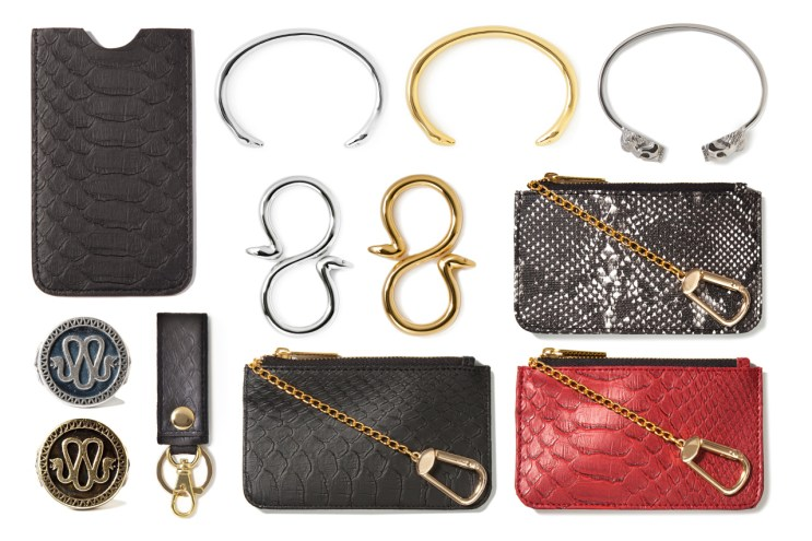 Stevin Gold x Mister 2012 Fall/Winter Snakeskin Accessories Collection