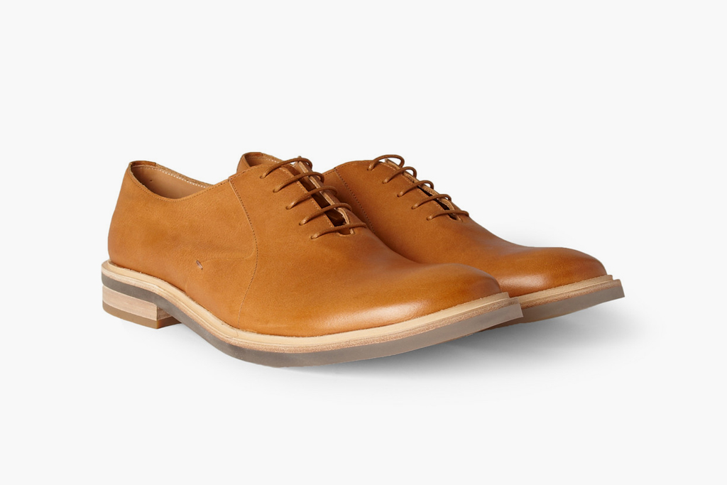 Maison Martin Margiela Clear Sole Leather Oxford Shoe