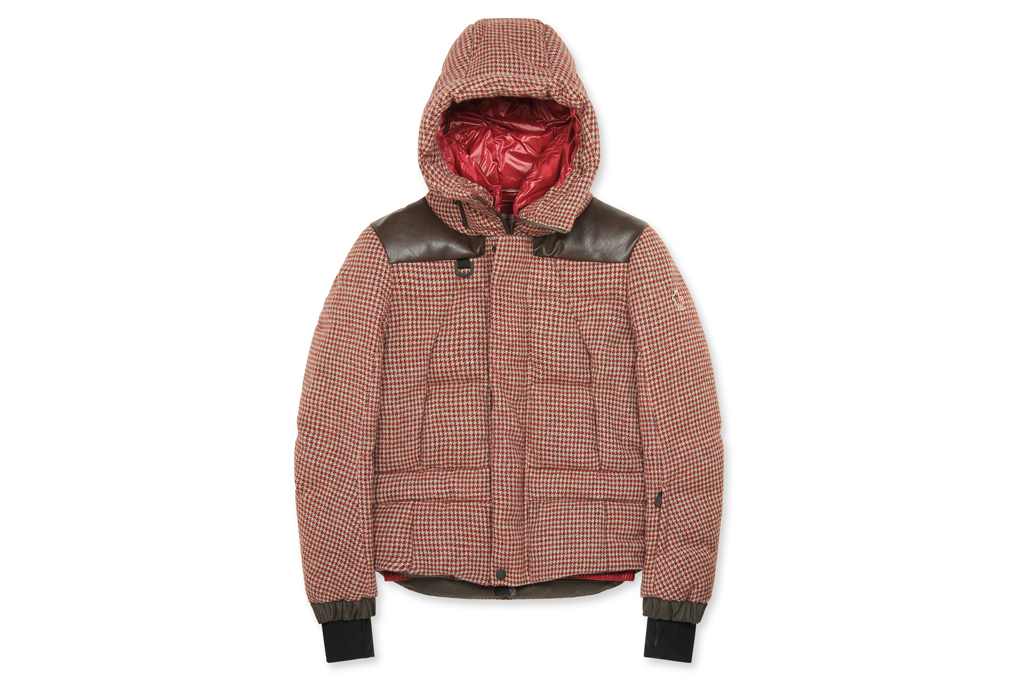Moncler Grenoble Check Down Jacket