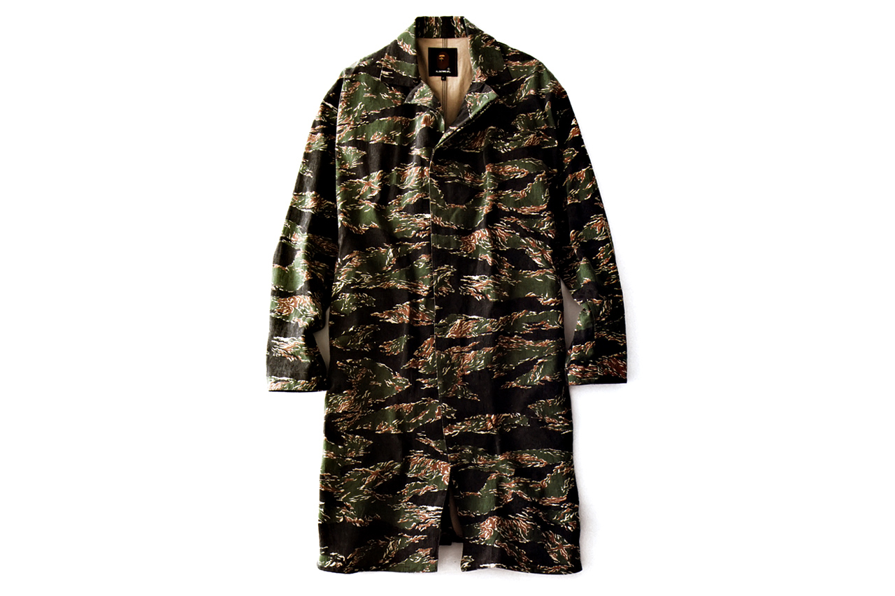 Mr. Bathing Ape 2012 Fall/Winter Tiger Camo Single Coat