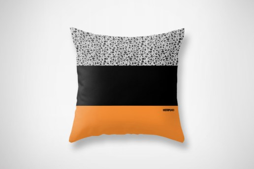 MSTRPLN Minimal Sneaker Project Throw Pillows