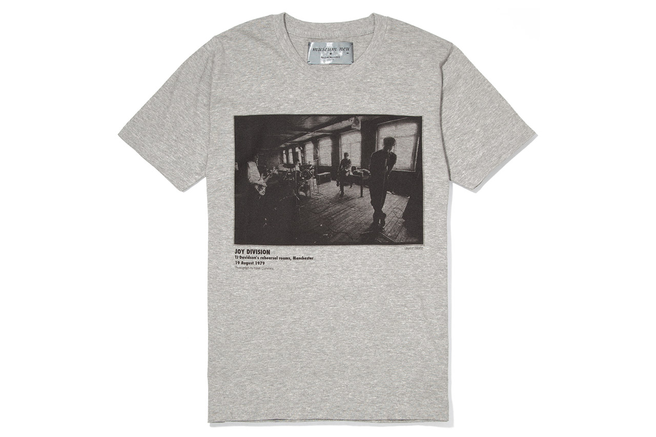 museum neu x Kazuki Kuraishi 2012 Joy Division Capsule Collection