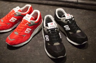 New Balance 2012 Winter CM1600 Black and Red Pack