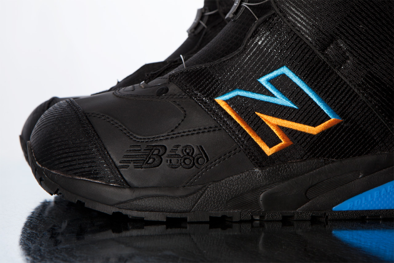 686 x new balance 2012 fall winter snowboard boot collection