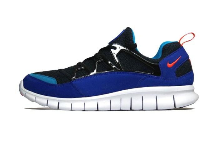 Nike 2013 Free Huarache Light BLACK/TEAM-ORANGE/CONCORD
