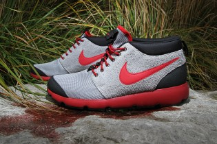 Nike Roshe Run Trail Wolf Grey/Gym Red