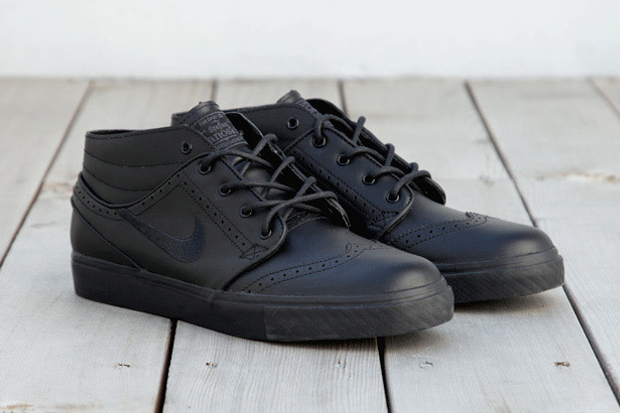 nike sb zoom stefan janoski black brogue